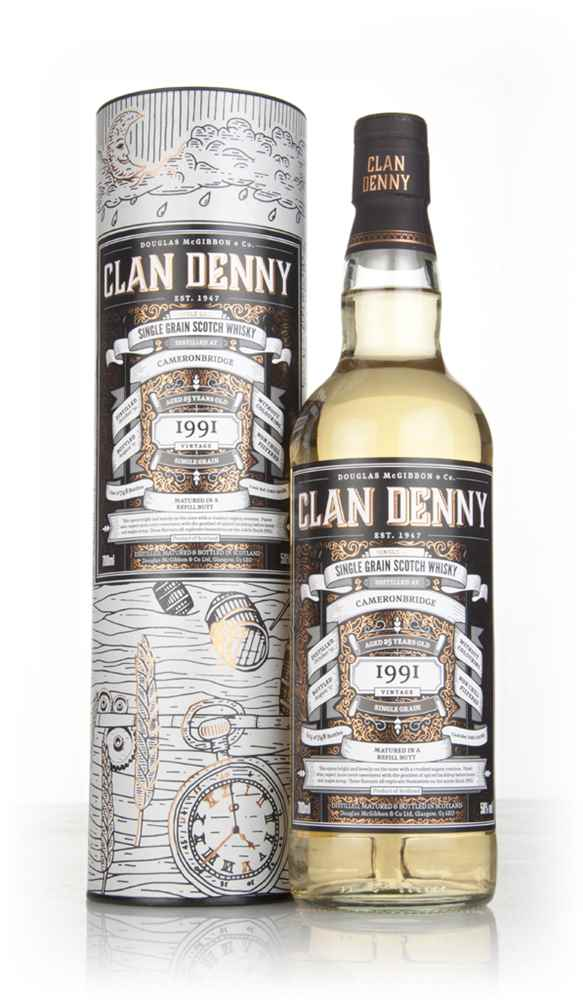Cameronbridge 25 Year Old 1991 (cask 12086) - Clan Denny (Douglas Laing)