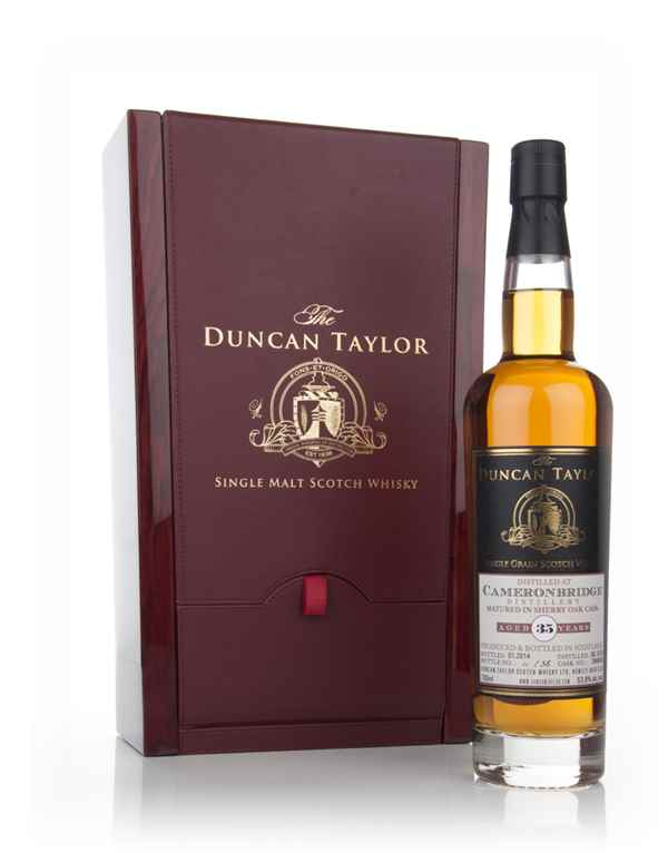 Cameronbridge 34 Year Old 1978 (cask 396999) - The Duncan Taylor Single