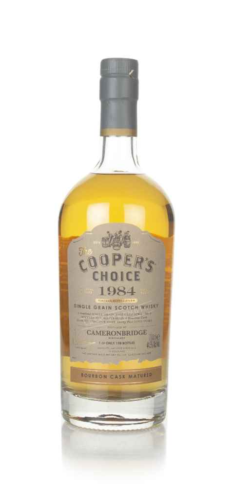 Cameronbridge 35 Year Old 1984 (cask 27682) -  The Cooper's Choice (The Vintage Malt Whisky Co.)