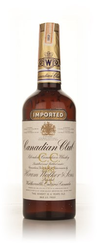 Canadian Club 6 Year Old Whisky -  1957 70cl