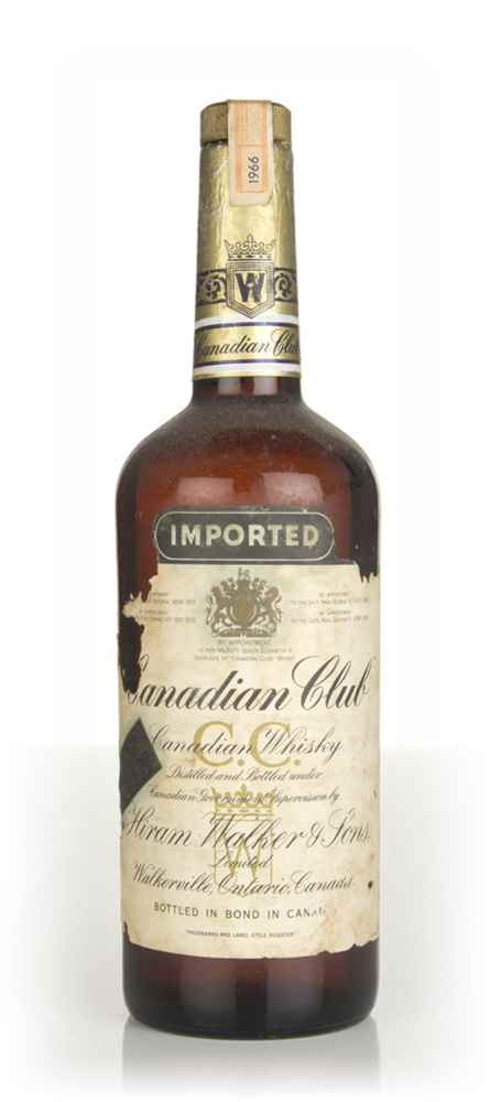 Canadian Club Blended Whisky - 1966