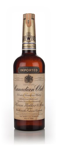 Canadian Club 6 Year Old Whisky - 1958