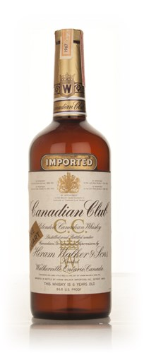 Canadian Club 6 Year Old Whisky 1l - 1967