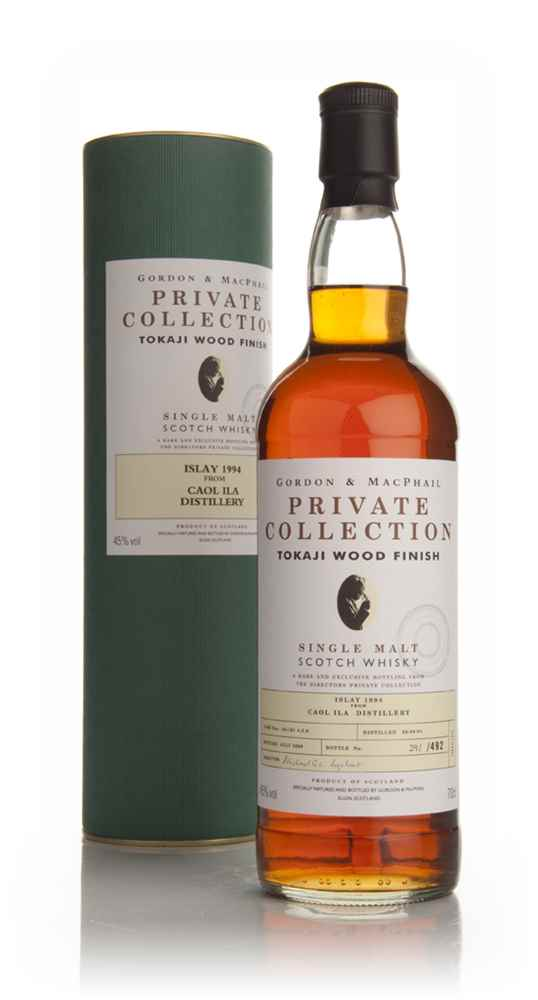 Caol Ila 14 Year Old 1994 Tokaji Wood Finish - Private Collection (Gordon and MacPhail)