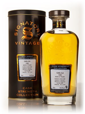 Caol Ila 27 Year Old 1983 Cask 5284 - Cask Strength Collection (Signatory)