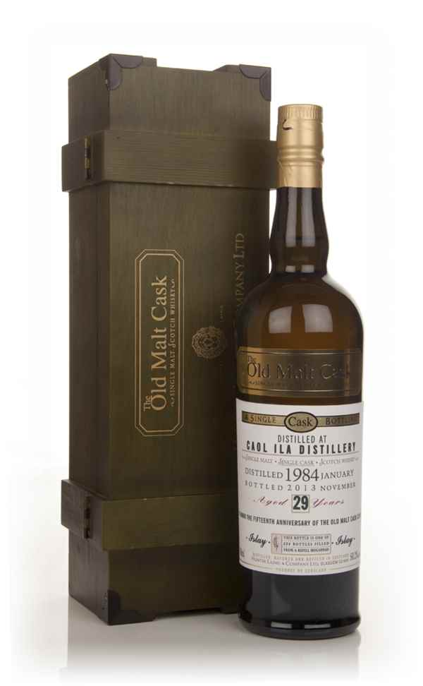 Caol Ila 29 Year Old 1984 - Old Malt Cask 15th Anniversary (Hunter Laing)