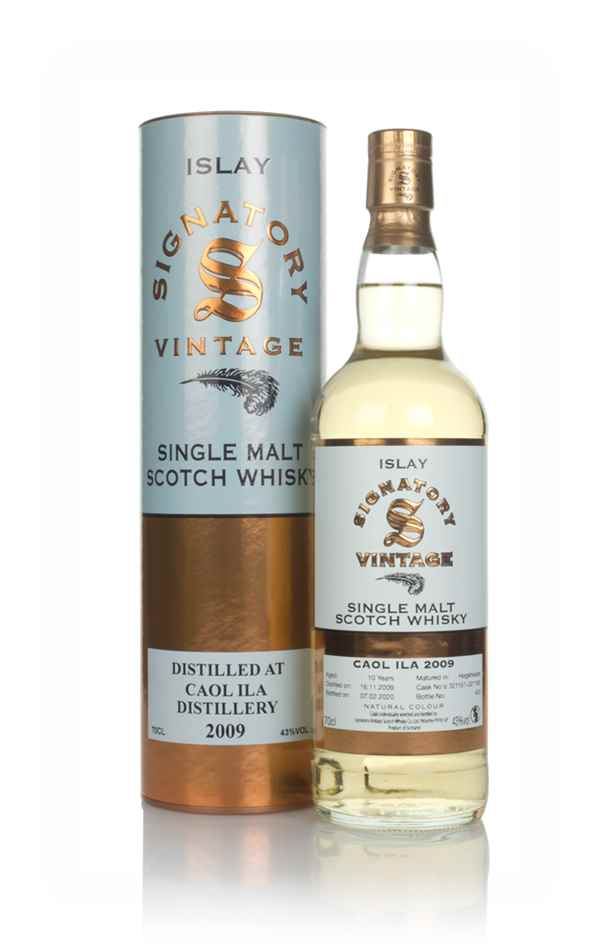 Caol Ila 10 Year Old 2009 (casks 321157 & 321160) - Signatory