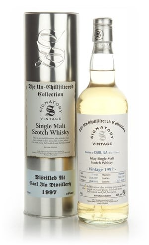 Caol Ila 15 Year Old 1997 - Un-Chillfiltered (Signatory)