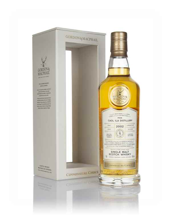 Caol Ila 16 Year Old 2002 - Connoisseurs Choice (Gordon & MacPhail)