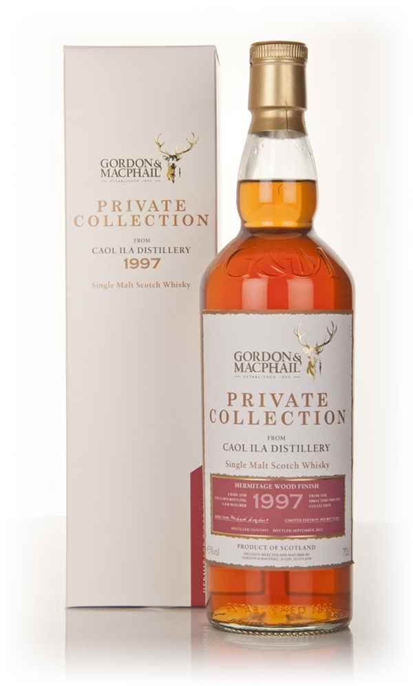 Caol Ila 1997 Hermitage Wood Finish - Private Collection (Gordon and MacPhail)