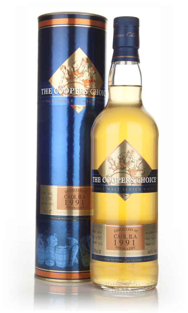 Caol Ila 21 Year Old 1991 - The Coopers Choice (The Vintage Malt Whisky Co.)