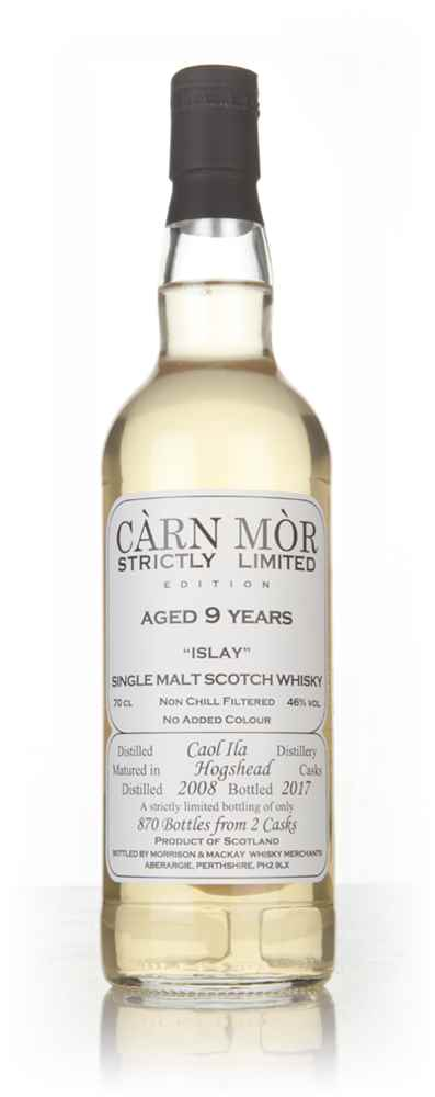 Caol Ila 9 Year Old 2008 - Strictly Limited (Càrn Mòr)