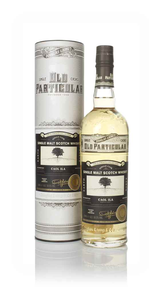 Caol Ila 'Earth' 8 Year Old 2010 - Old Particular Elements Collection (Douglas Laing)