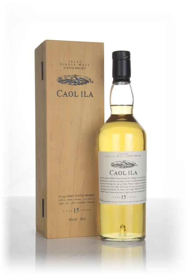 Caol Ila 15 Year Old - Flora and Fauna (with Wooden Presentation Box)
