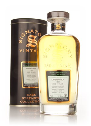 Caperdonich 19 Year Old 1992 Cask 46238 - Cask Strength Collection (Signatory)