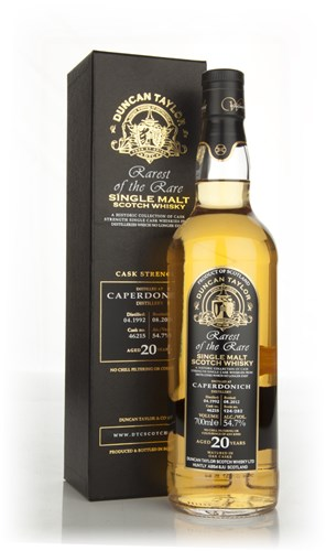 Caperdonich 20 Year Old 1992 - Rarest of the Rare  (Duncan Taylor)