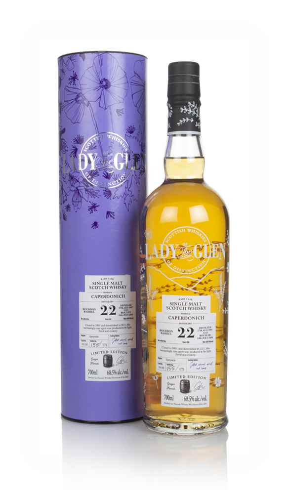 Caperdonich 22 Year Old 1997 (cask 19130) - Lady of the Glen (Hannah Whisky Merchants)