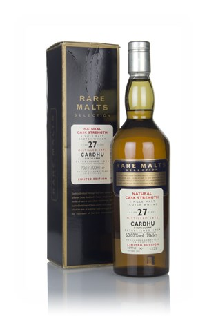 Cardhu 27 Year Old 1973 - Rare Malts