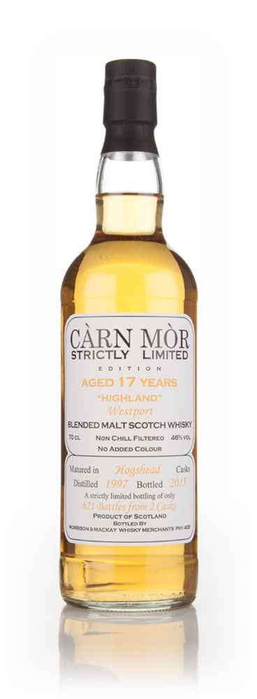 Westport 17 Year Old 1997 - Strictly Limited (Càrn Mòr)