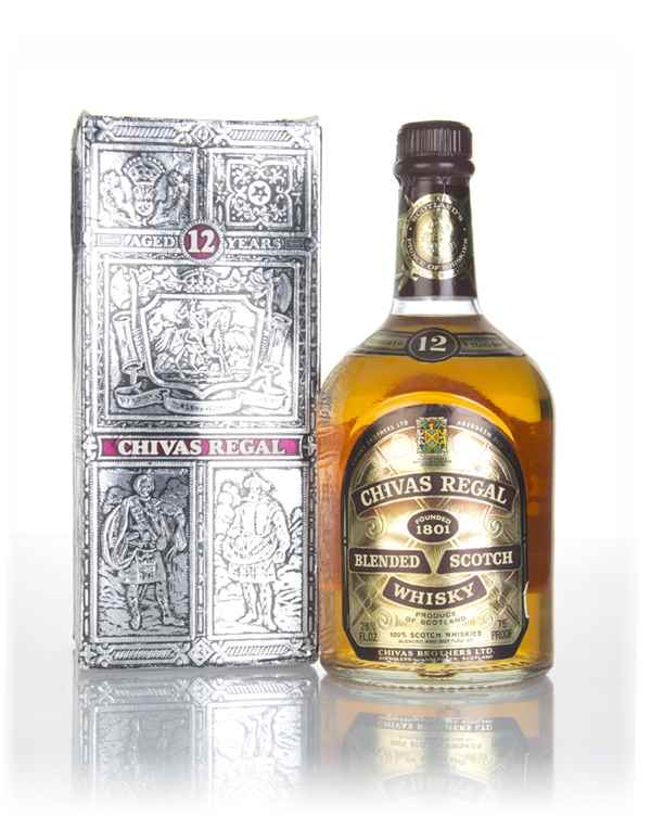 Chivas Regal 12 Year Old (with Presentation Box) - 1970s