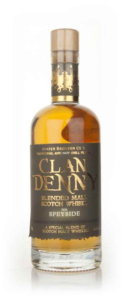 Clan Denny Speyside Blended Malt (Stumpy Bottle)