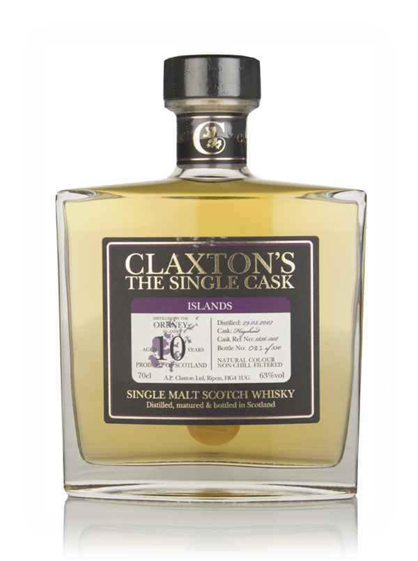Orkney 10 Year Old 2007 - Claxton's
