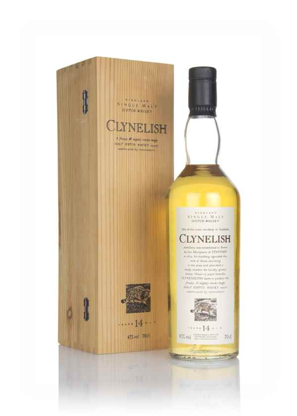 Clynelish 14 Year Old - Flora and Fauna (Old Bottle)
