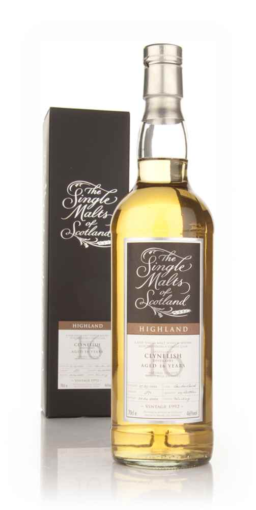 Clynelish 16 Year Old 1992 - Single Malts of Scotland (Speciality Drinks)