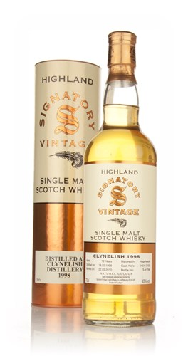 Clynelish 12 Year Old 1998 (Signatory)