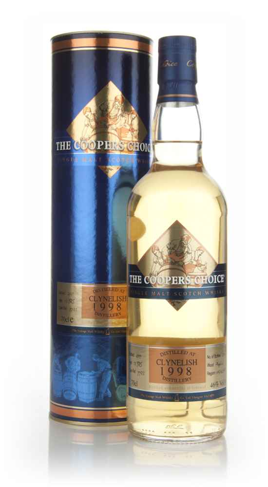 Clynelish 13 Year Old 1998 - The Coopers Choice (The Vintage Malt Whisky Co.)