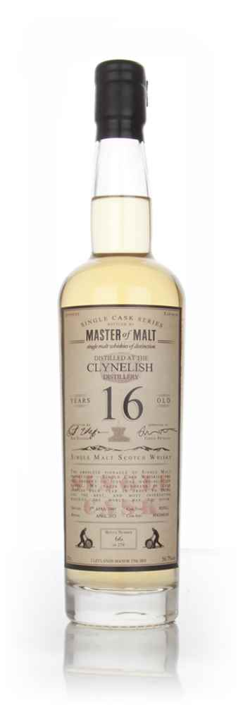 Clynelish 16 Year Old 1997 - Single Cask (Master of Malt)