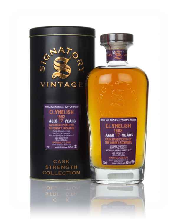 Clynelish 17 Year Old 1995 (cask 12794) - Cask Strength Collection (Signatory)