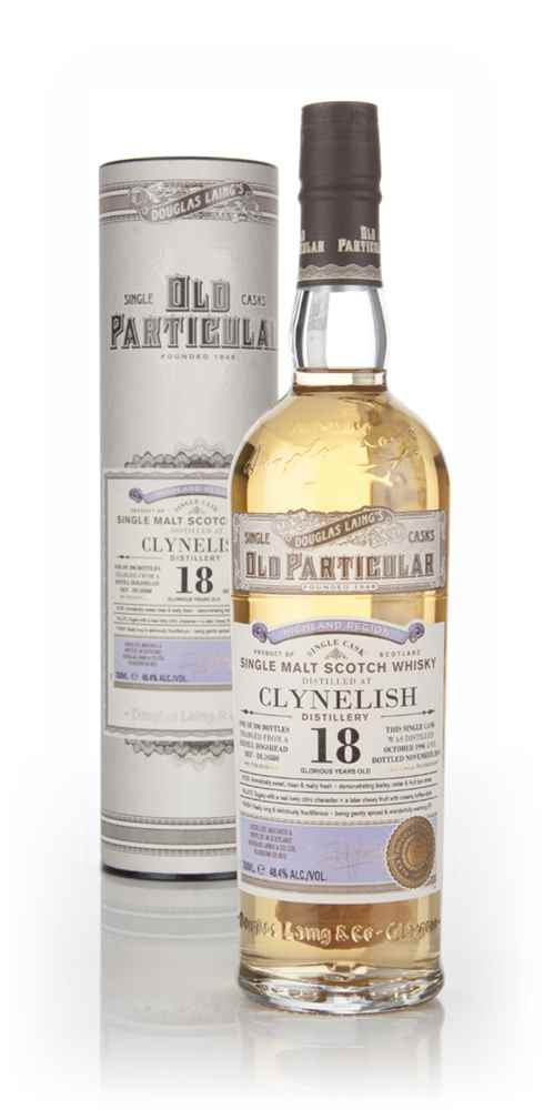 Clynelish 18 Year Old 1996 (cask 10580) - Old Particular (Douglas Laing)