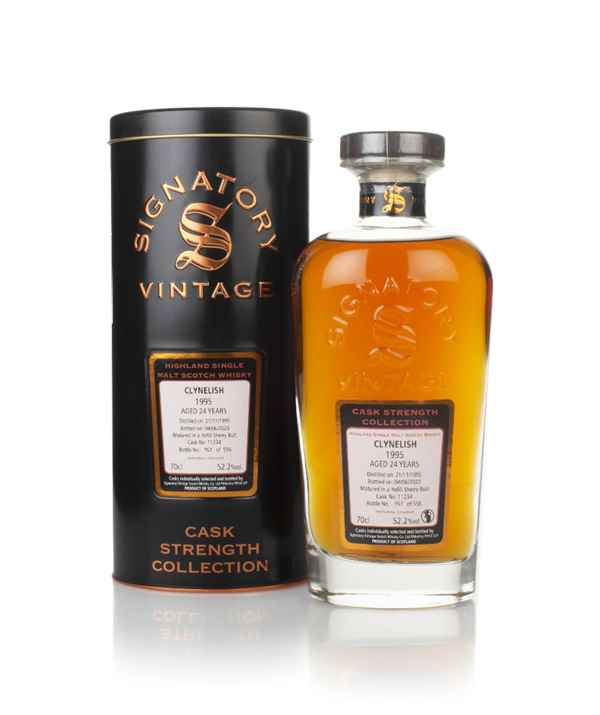 Clynelish 24 Year Old 1995 (cask 11234) - Cask Strength Collection (Signatory)