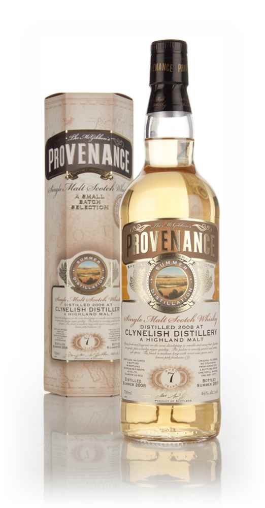 Clynelish 7 Year Old 2008 (cask 10771) - Provenance (Douglas Laing)