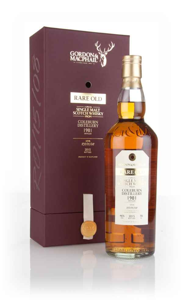 Coleburn 1981 (bottled 2015) (Lot. No. RO/15/08) - Rare Old (Gordon & MacPhail)
