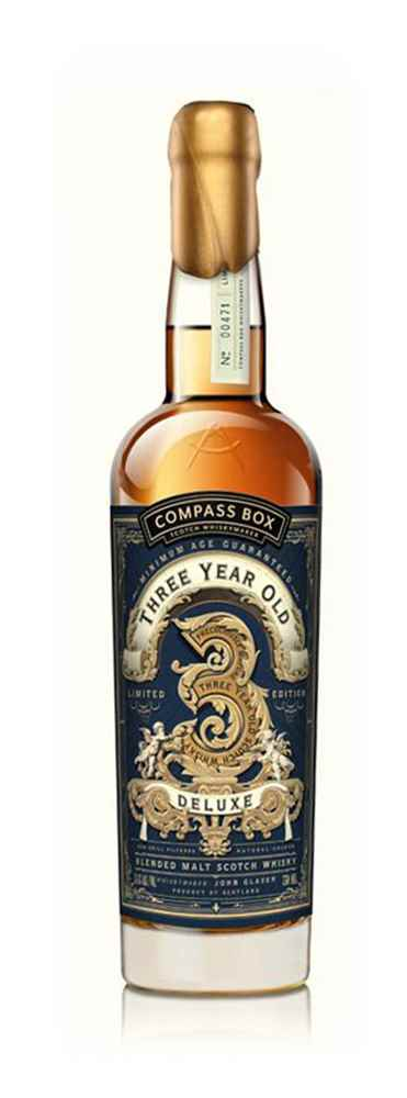 Compass Box 3 Year Old Deluxe