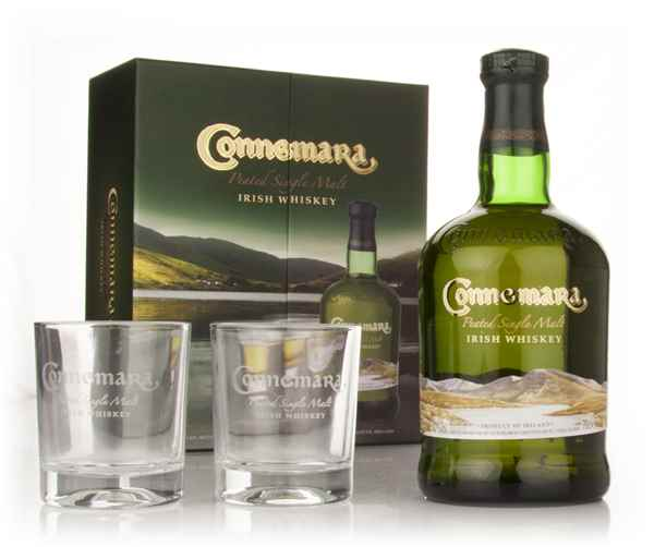 Connemara Peated Single Malt + 2 Glasses