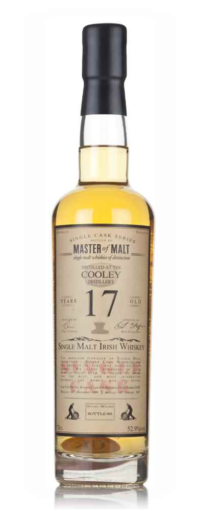 Cooley 17 Year Old 1999 - Single Cask (Master of Malt)