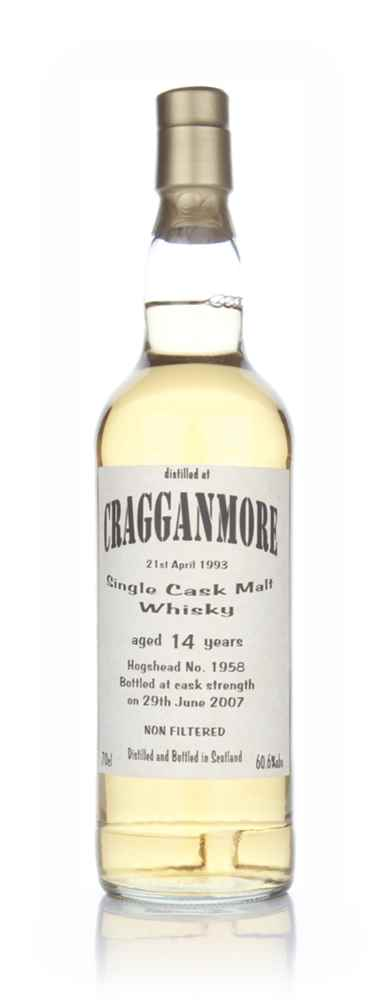 Cragganmore 14 Year Old 1993 (Bladnoch Bottling)