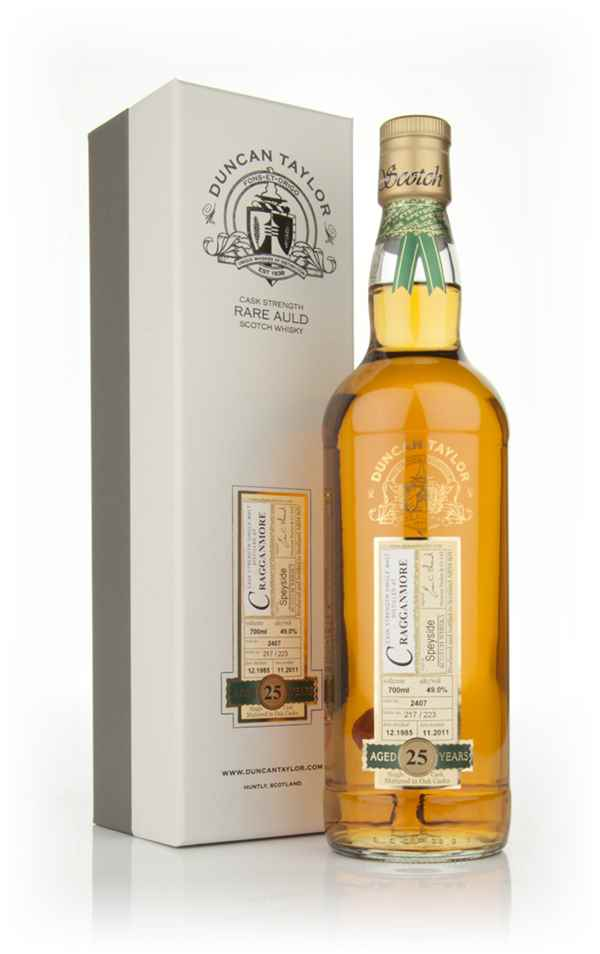 Cragganmore 25 Year Old 1985 - Rare Auld (Duncan Taylor)