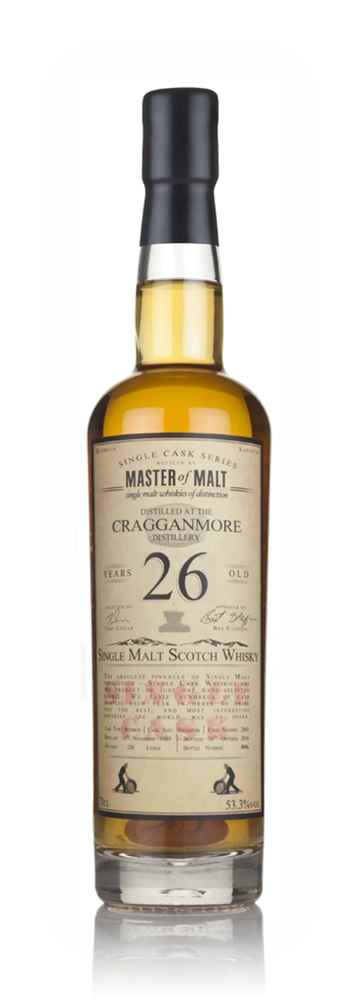 Cragganmore 26 Year Old 1989 - Single Cask (Master of Malt)