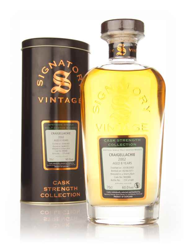 Craigellachie 8 Year Old 2002 Cask 900066 - Cask Strength Collection (Signatory)