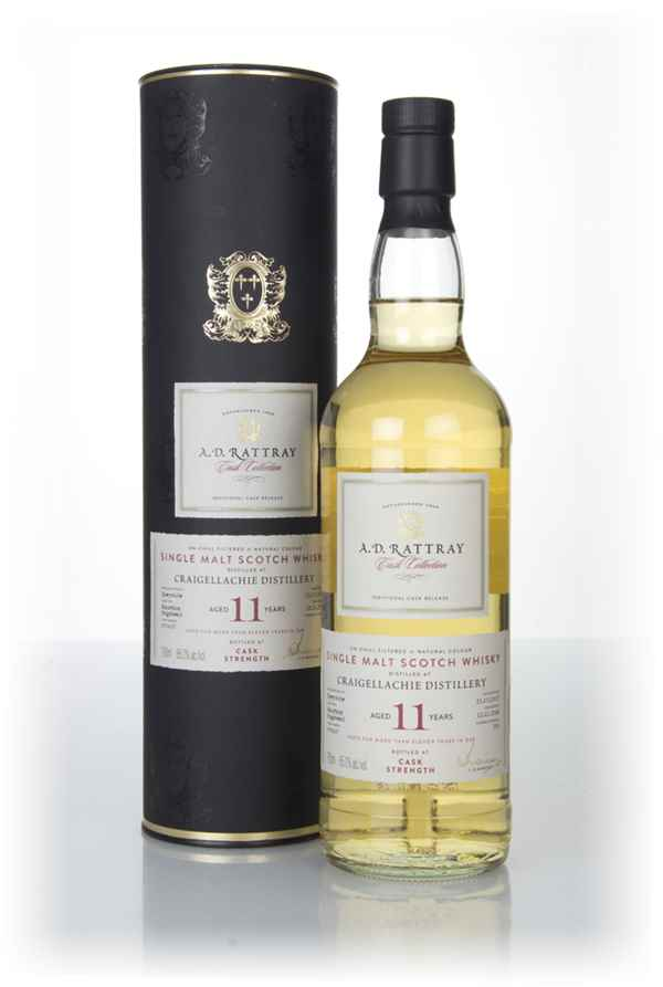 Craigellachie 11 Year Old 2007 (cask 900637) - Cask Collection (A.D. Rattray)