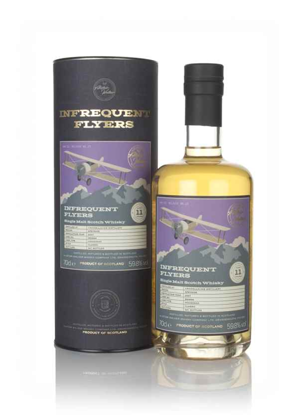 Craigellachie 11 Year Old 2007 (cask 900694) - Infrequent Flyers (Alistair Walker)