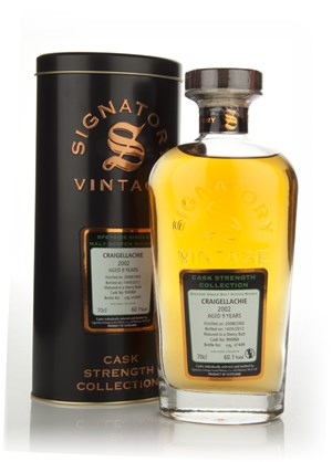 Craigellachie 9 Year Old 2002 - Cask Strength Collection (Signatory)