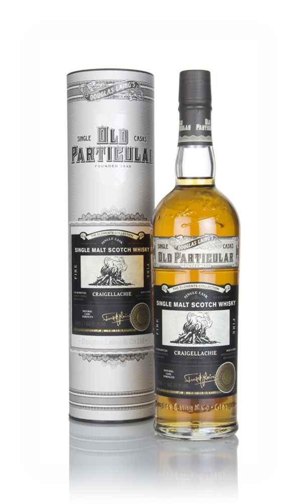 Craigellachie 'Fire' 12 Year Old 2006 - Old Particular Elements Collection (Douglas Laing)