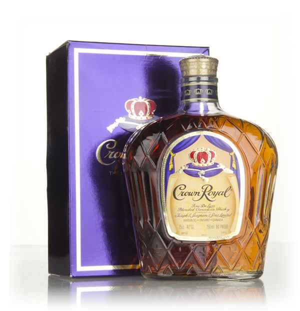 Crown Royal Canadian Whisky - 1980s