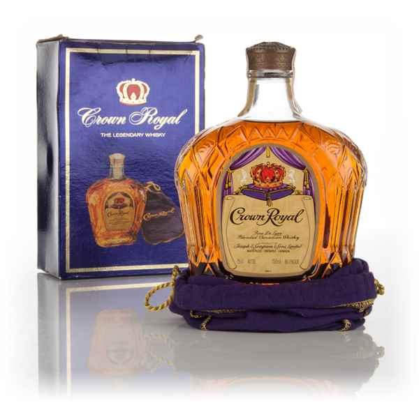 Crown Royal Canadian Whisky (Boxed) - 1982