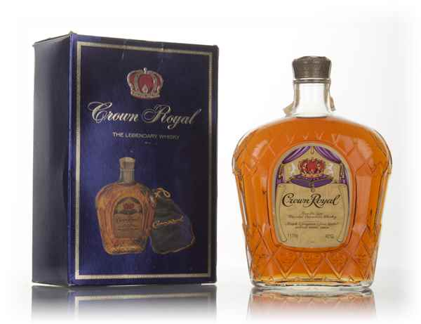 Seagram's Crown Royal Canadian Whisky - 1978
